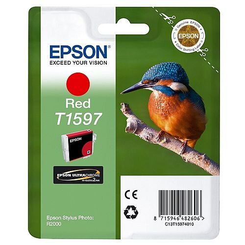 Epson Inkjet Cartridge Red C13T15974010