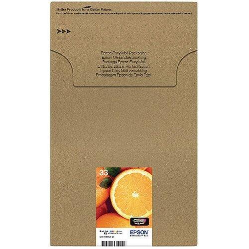 Epson 33 Claria Premium Ink Cartridge Multipack 5-Colours Easymail Pack of 5 C13T33374510