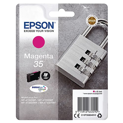 Epson 35 Magenta Ink Cartridge C13T35834010
