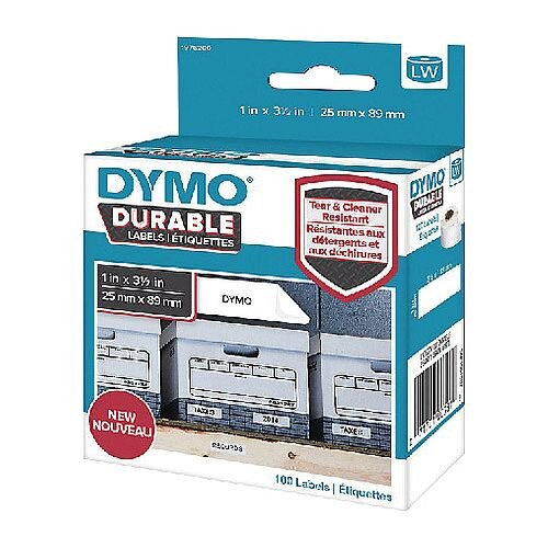 Dymo Durable Labels 25x89mm Roll 1976200
