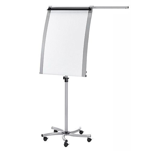 Franken EuroLine Magnetic Mobile Flipchart Easel with Extension Arm F2016