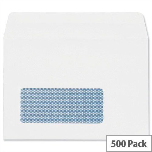 Plus Fabric White Envelopes Wallet Pack 500