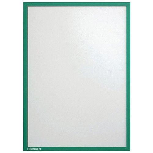 Franken Document Holder A4 Green Pack of 5 ITSA4M 02