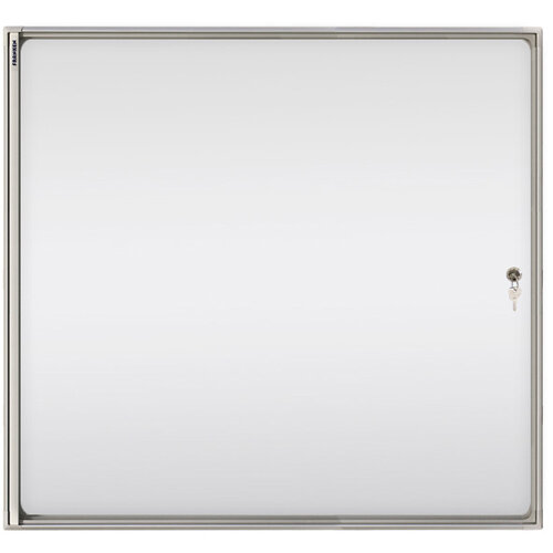 Franken Flat Display Cases ValueLine Magnetic White 8 x A4 FSA8