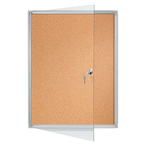 Franken Flat Board Display Cases ValueLine Cork 4 x A4 FSKA4