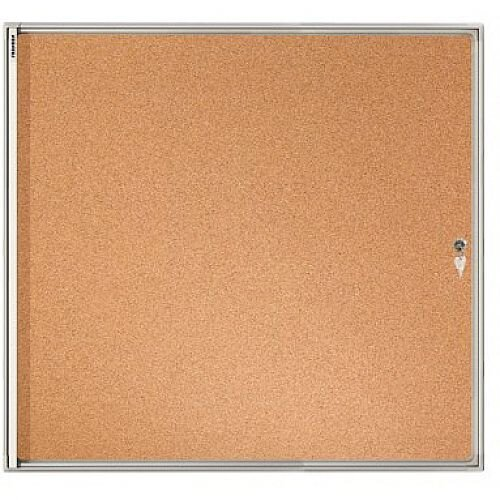 Franken Flat Board Display Case ValueLine Cork 6 x A4 FSKA6