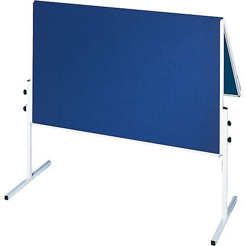 Franken ValueLine Training Board Foldable 1200x1500mm Felt Blue CC-UMTF-G03