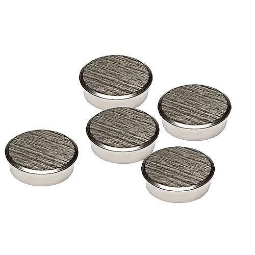 Franken Chrome Magnets Round 25mm Pack of 5 HM25CR/5