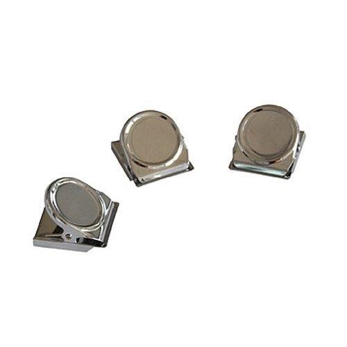 Franken Magnetic Clip 45x35 mm Silver Pack of 3