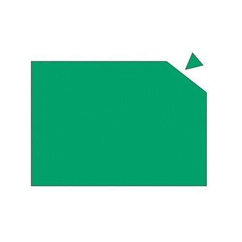 Franken Magnetic Sheet WxH 29.5 x 20cm 0.6mm Thickness Green