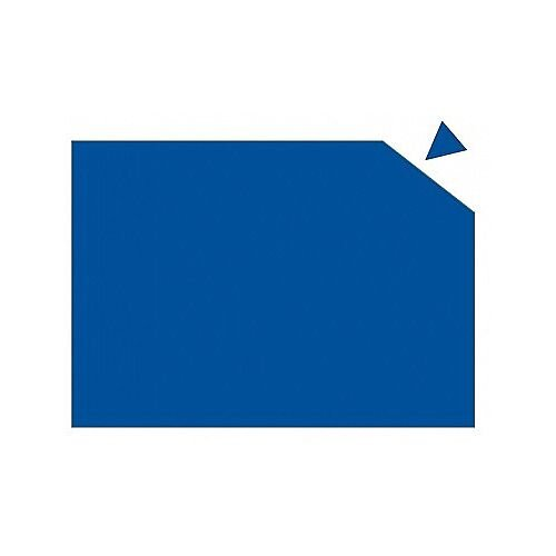 Franken Magnetic Sheet WxH 29.5 x 20cm 0.6mm Thickness Blue