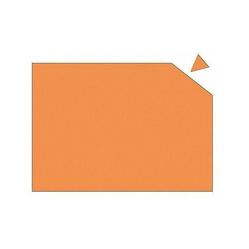 Franken Magnetic Sheet WxH 29.5 x 20cm 0.6mm Thickness Orange