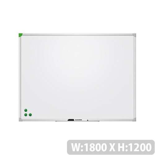 Franken Magnetic Whiteboard U-Act!Line 1800x1200mm Enameled White SC921218