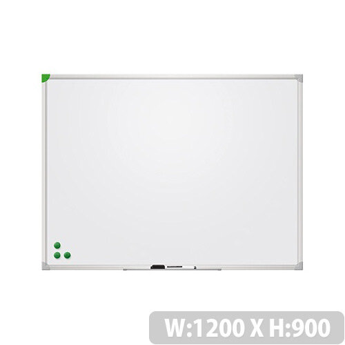 Franken Magnetic Whiteboard U-Act!Line 1200x900mm Enameled White SC929012