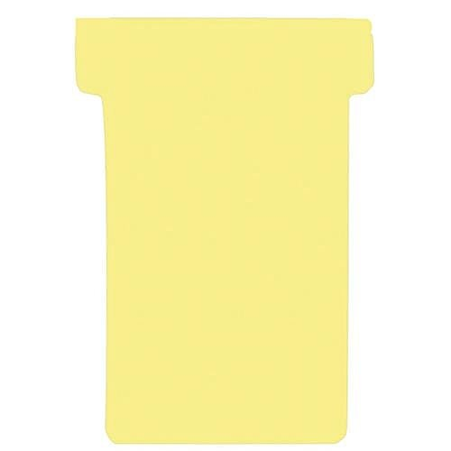 Franken T-Card Size 2 Yellow Pack of 100 TK204