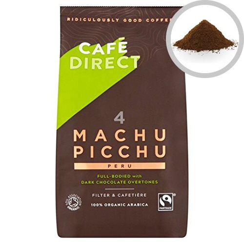 Cafedirect Organic Ground Machu Picchu Coffee 227g Pack 1 TWI12026