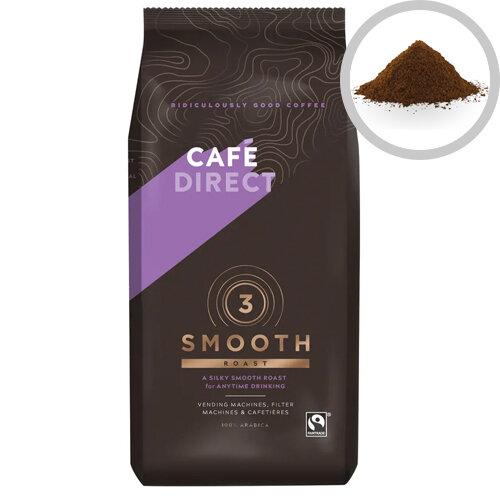Cafedirect Medium Roast Ground Coffee 750g Pack of 1 TW12002
