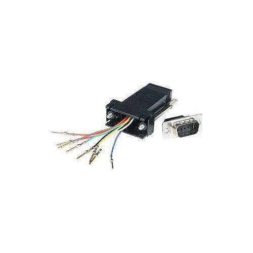 StarTech DB9 to RJ45 Modular Adapter M/F Serial adapter DB-9 M RJ-45 F 1 x DB-9 Male 1 x RJ-45 Female Grey GC98MF