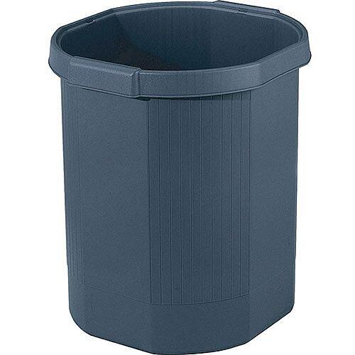 Forever Waste Bin Black 18 Litre Capacity 435014D