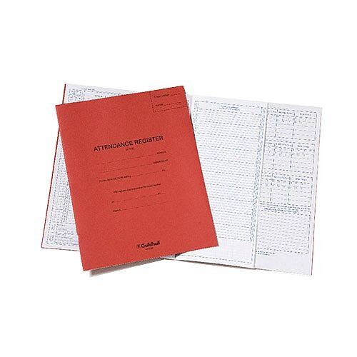 Exaclair Limited Guildhall Attendance Register Red E100Z