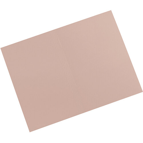 5 Star Elite Square Cut Folders 315gsm Heavyweight Manilla Foolscap Buff Pack 100