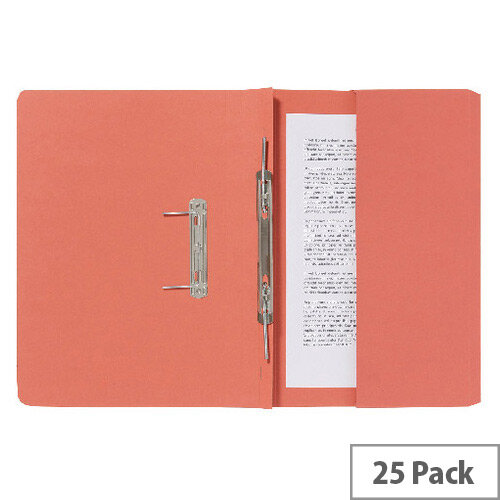 Guildhall Pocket Spiral File Orange 347-Orgz Pk25