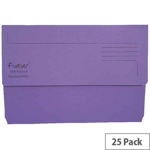 Guildhall Bright Foolscap Manilla Wallet Purple 211/5005