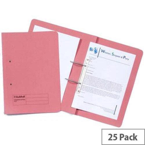 Guildhall Transfer Spiral Pocket R/H Pink Pack of 25 211/9064Z