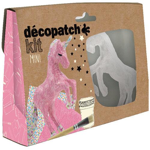 Decopatch Mini Kit Unicorn Pack of 5 KIT009O