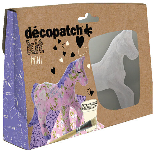 Decopatch Mini Kit Horse Pack of 5 KIT010O
