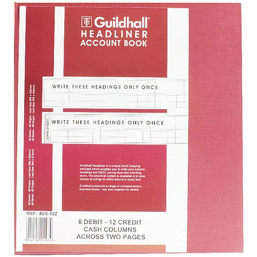 Guildhall Headliner Book 80 Pages 298x273mm 48/6-12 1293