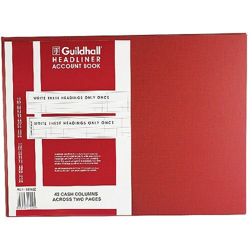 Guildhall Headliner Book 298x405 68/42