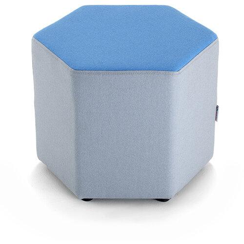 Groove modular breakout seating - hexagon shape