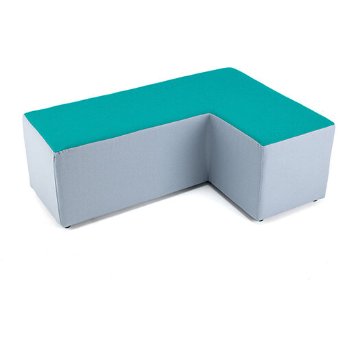 Groove modular breakout seating - wedge shape