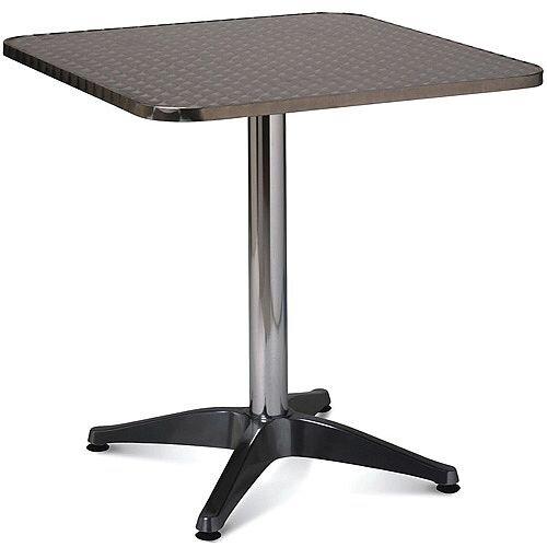 Aluminium Square Outdoor Cafe &Bistro Table