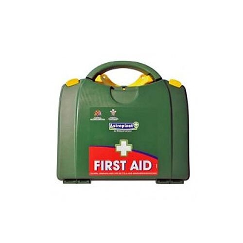 Green Box HSA 26-50 Person First Aid Kit Incl. Eyewash &Burns