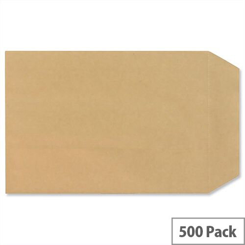 New Guardian C5 Manilla 80gsm Envelopes Self Seal Pocket Pack 500 Ref H26211
