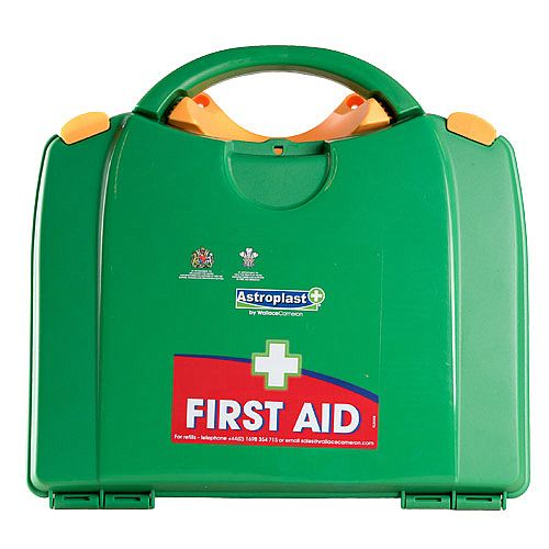 Green Box HSA Travel First Aid Kit Food Hygiene Incl Eye Wash &Burns
