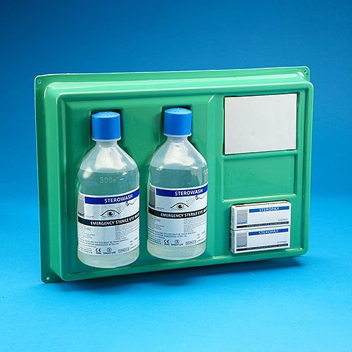 Emergency Eye Wash Station Wall Plate
