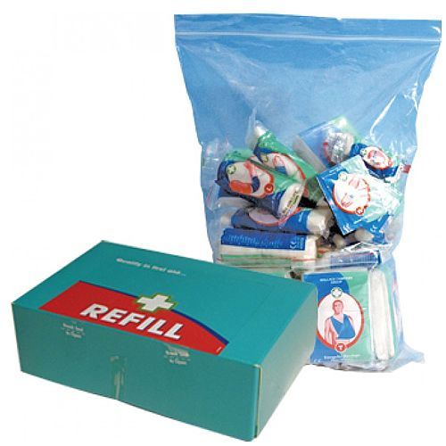 HSE First Aid Kit Refill 1-20 Persons Food Hygiene 1035013