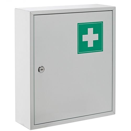 Astroplast Metal First Aid Cabinet Medium EMPTY