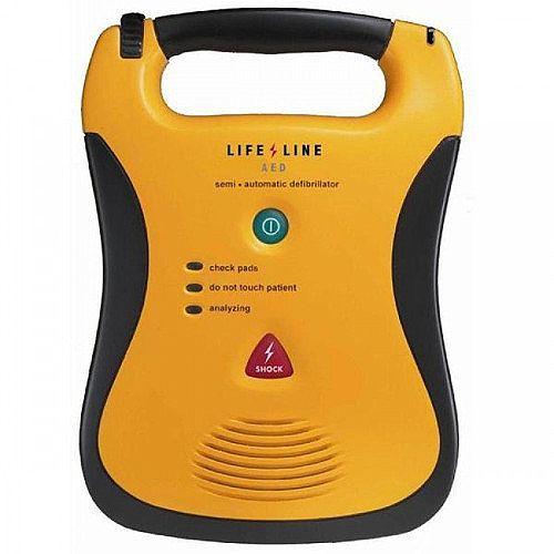 Defibtech Lifeline AED Semi-Automatic Defibrillator - Life-Saving Technology - Lightweight - Clear Voice Prompts - DDU-110E
