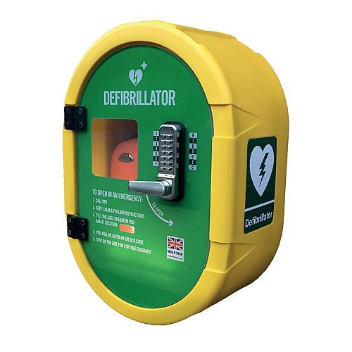 DefibSafe 2 Outdoor Heated AED Defibrillator Cabinet