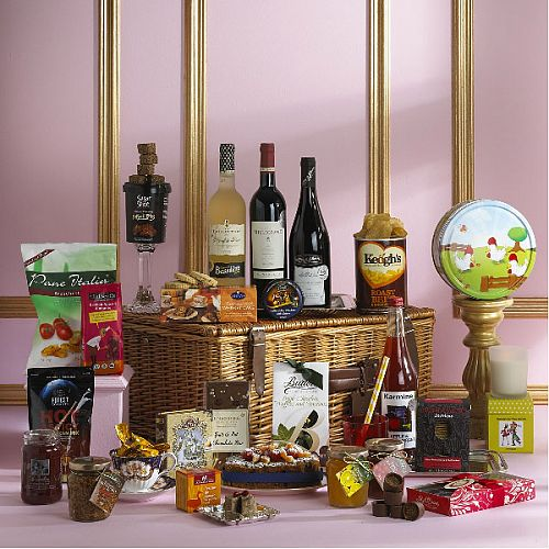 Gift Basket Of Indulgent Treats