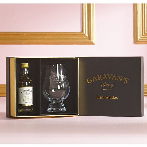 Garavans Of Galway Irish Whiskey Gift Set