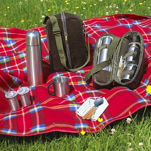 Chilly Days Picnic Flask Set