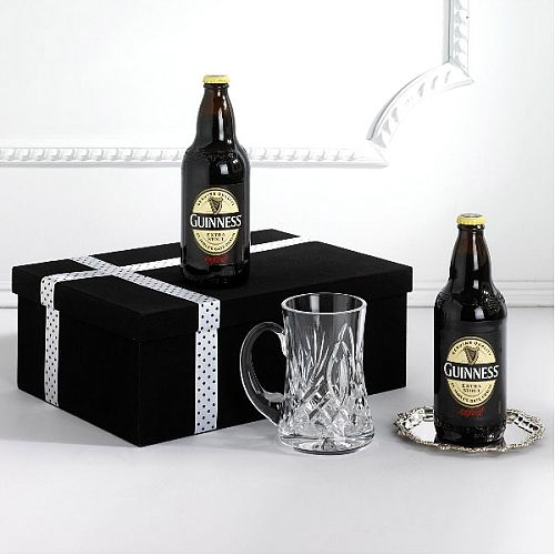 Crystal And Guinness Gift Box