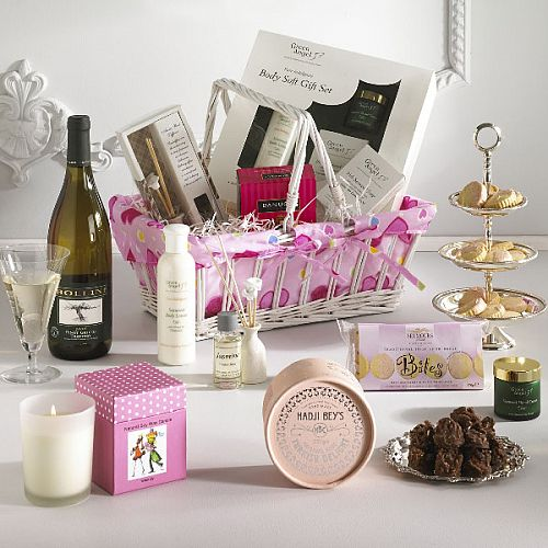 Ladies Luxuries Gift Basket