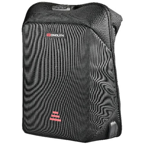 Monolith Laptop Backpack - 15.6 inch - USB, Audio Jack Port - SmartBackpack - Ballistic Nylon Material - Commuter Security 3210