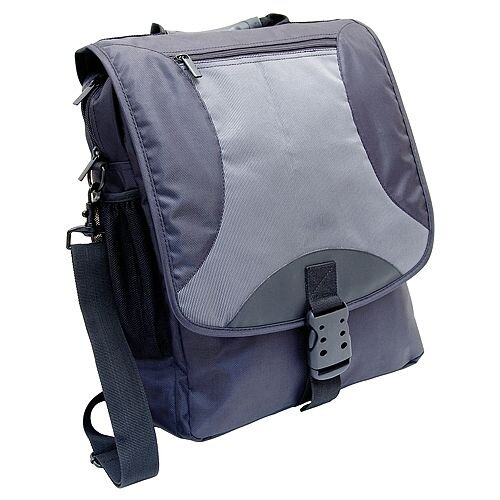 Monolith Nylon Laptop Backpack Black/Grey